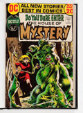 Bronze Age (1970-1979):Horror, House of Mystery #204-209 Bound Volume (DC, 1972)....