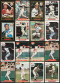 Autographs:Sports Cards, Baseball Legends Signed Cards Lot of 16....