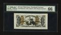 Fractional Currency:Third Issue, Fr. 1343SP 50¢ Third Issue Wide Margin Face Justice PMG Gem Uncirculated 66.. ...
