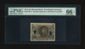 Fractional Currency:Second Issue, Milton 2E10F.4 10¢ Second Issue Experimental PMG Gem Uncirculated 66 EPQ.. ...