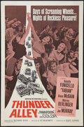 "Movie Posters:Action, Thunder Alley (American International, 1967). One Sheet (27"" X41""). Action.. ..."
