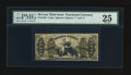 Fractional Currency:Third Issue, Fr. 1348 50¢ Third Issue Justice PMG Very Fine 25.. ...