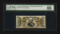 Fractional Currency:Third Issue, Fr. 1326 50¢ Third Issue Spinner PMG Gem Uncirculated 66 EPQ.. ...