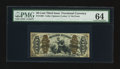 Fractional Currency:Third Issue, Fr. 1365 50¢ Third Issue Justice PMG Choice Uncirculated 64.. ...