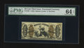 Fractional Currency:Third Issue, Fr. 1361 50¢ Third Issue Justice PMG Choice Uncirculated 64 EPQ.. ...