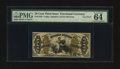 Fractional Currency:Third Issue, Fr. 1358 50¢ Third Issue Justice PMG Choice Uncirculated 64 EPQ.. ...