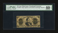 Fractional Currency:Third Issue, Fr. 1299 25¢ Third Issue PMG Extremely Fine 40 EPQ.. ...