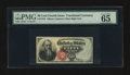 Fractional Currency:Fourth Issue, Fr. 1376 50¢ Fourth Issue Stanton PMG Gem Uncirculated 65 EPQ.. ...
