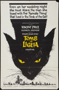 """Movie Posters:Horror, The Tomb of Ligeia (American International, 1965). One Sheet (27"""" X 41""""). Horror.. ..."""