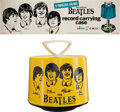Music Memorabilia:Memorabilia, Beatles Disk-Go-Case Promotional Banner (NEMS Enterprises,1966).... (Total: 2 Items)
