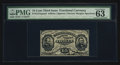 Fractional Currency:Third Issue, Fr. 1274SP 15¢ Third Issue Narrow Margin Face PMG Choice Uncirculated 63 EPQ.. ...