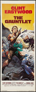 "Movie Posters:Action, The Gauntlet (Warner Brothers, 1977). Insert (14"" X 36""). Action.. ..."