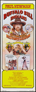 """Movie Posters:Western, Buffalo Bill and the Indians, or Sitting Bull's History Lesson (United Artists, 1976). Insert (14"""" X 36""""). Western.. ..."""