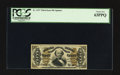 Fractional Currency:Third Issue, Fr. 1337 50¢ Third Issue Spinner PCGS Choice New 63PPQ.. ...
