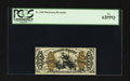 Fractional Currency:Third Issue, Fr. 1368 50¢ Third Issue Justice PCGS New 62PPQ.. ...