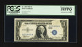 Error Notes:Obstruction Errors, Fr. 1607 $1 1935 Silver Certificate. PCGS Choice About New 58PPQ.....
