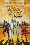 "Movie Posters:Fantasy, The Wizard of Oz (Warner Brothers, R-1998). One Sheet (27"" X 40"").Special Edition. DS Advance. Fantasy.. ..."