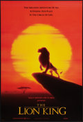 "Movie Posters:Animated, The Lion King (Buena Vista, 1994). International One Sheets (2) (27"" X 40""). SS. Animated.. ... (Total: 2 Items)"