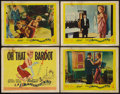 """Movie Posters:Comedy, La Parisienne (United Artists, 1958). Title Lobby Card and Lobby Cards (3) (11"""" X 14""""). Comedy.. ... (Total: 4 Items)"""