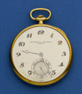 Timepieces:Pocket (post 1900), Vacheron & Constantin 44 mm 18k Gold Open Face For Repair. ...