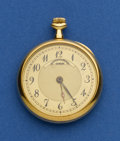 Timepieces:Pocket (post 1900), Vacheron Constantin Running 18k Gold 29 mm Pendant Watch. ...