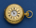 Timepieces:Pocket (post 1900), J.W. Benson Demi Hunter 18k Gold Pocket Watch. ...