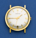 Timepieces:Wristwatch, Zenith 18k Gent's Wristwatch. ...