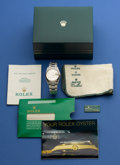 Timepieces:Wristwatch, Rolex Ref. 15200 Steel Oyster Perpetual Date For Restoration, circa 1989. ...