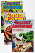 Silver Age (1956-1969):Adventure, My Greatest Adventure Group (DC, 1962-63) Condition: Average VF+.... (Total: 4 Comic Books)