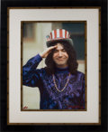 Music Memorabilia:Photos, Grateful Dead - Jerry Garcia Limited Edition Gene Anthony Photo Canvas Print Artist's Proof....