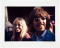 Music Memorabilia:Photos, George Harrison and Patti Boyd Limited Edition Gene Anthony PhotoPrint #91/100....