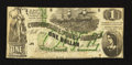 "Confederate Notes:1862 Issues, T45 ""Gutter Error"" $1 1862 PF-2 Cr. 342.. ..."