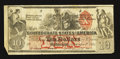 Confederate Notes:1861 Issues, CT22/152E-1 Counterfeit $10 1861.. ...