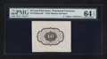 Fractional Currency:First Issue, Fr. 1243SP 10¢ First Issue Wide Margin Back PMG Choice Uncirculated 64 EPQ.. ...