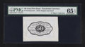 Fractional Currency:First Issue, Fr. 1313SP 50¢ First Issue Wide Margin Back. PMG Gem Uncirculated 65 EPQ.. ...