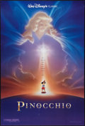 """Movie Posters:Animation, Pinocchio (The Walt Disney Company, R-1992). One Sheet (27"""" X 40"""") DS Style B. Animation.. ..."""