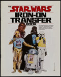 """Movie Posters:Science Fiction, Star Wars (20th Century Fox, 1977). Iron-On Transfer Book (MultiplePages, 8.75"""" X 11""""). Science Fiction.. ..."""