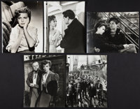 "The Sea Wolf (Warner Brothers, 1941). Keybook Photos (5) (7.5"" X 9.5"") and Daily Production Log Sheets (8) (8..."