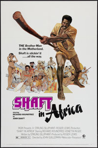 """Shaft in Africa and Other Lot (MGM, 1973). One Sheets (2) (27"""" X 41""""). Blaxploitation. ... (Total: 2 Items)"""