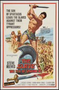 "Movie Posters:Adventure, The Slave (MGM, 1963). One Sheet (27"" X 41""). Adventure.. ..."