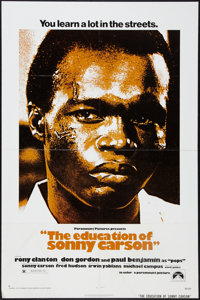 """The Education of Sonny Carson and Other Lot (Paramount, 1974). One Sheets (2) (27"""" X 41""""). Drama. ... (Total:..."""