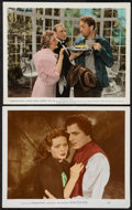 """Movie Posters:Adventure, Kidnapped and Other Lot (20th Century Fox, 1938). Color-Glos Photos(8"""" X 10""""). Adventure.. ... (Total: 2 Item)"""