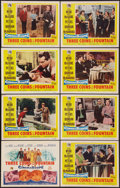 """Movie Posters:Romance, Three Coins in the Fountain (20th Century Fox, 1954). Lobby Card Set of 8 (11"""" X 14""""). Romance.. ... (Total: 8 Items)"""