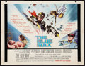 "Movie Posters:War, The Blue Max (20th Century Fox, 1966). MP Graded Half Sheet (22"" X28""). War.. ..."