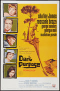 "Movie Posters:Mystery, Dark Purpose (Universal, 1964). MP Graded One Sheet (27"" X 41"").Mystery.. ..."