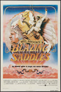 """Movie Posters:Comedy, Blazing Saddles (Warner Brothers, 1974). MP Graded One Sheet (27"""" X 41""""). Comedy.. ..."""