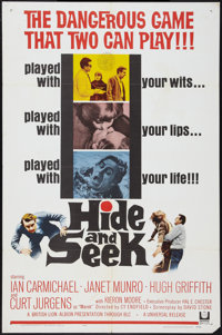 "Hide and Seek (Universal, 1964). MP Graded One Sheet (27"" X 41""). Thriller"
