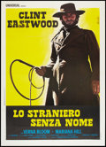 "Movie Posters:Western, High Plains Drifter (Cinema International, R-1973). MP Graded Italian 2 - Foglio (39"" X 55""). Western.. ..."