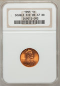 Lincoln Cents: , 1995 1C Doubled Die Obverse MS67 Red NGC. NGC Census: (9180/6170).PCGS Population (2745/2659). Numismedia Wsl. Price for ...