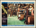 """Movie Posters:Western, The Telegraph Trail (Warner Brothers, 1933). Lobby Card (11"""" X 14""""). Western.. ..."""